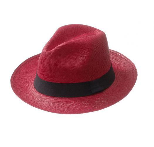 Panama Hat - CLASSIC Red